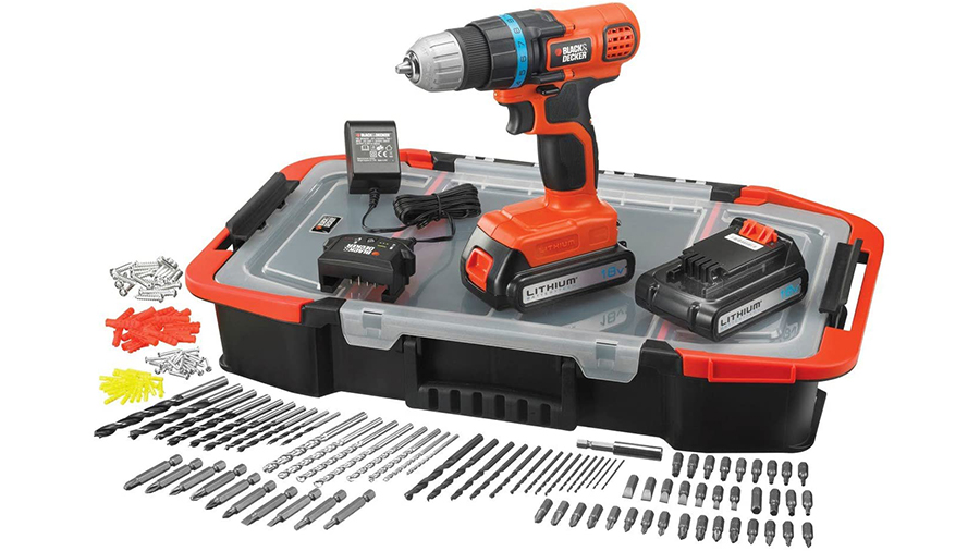 La perceuse-visseuse sans fil EGBL18BAST Black+Decker