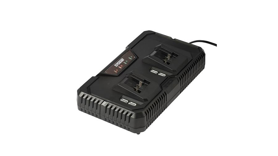 Chargeur double de batteries Erbauer EMC18-Li