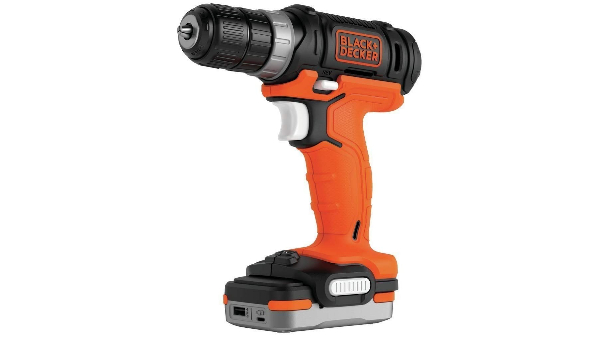 Perceuse visseuse BDCDD12S1-QW BLACK+DECKER