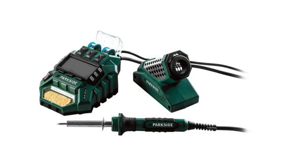 Station de soudage numérique PLSD 48 B2, 48 W Parkside