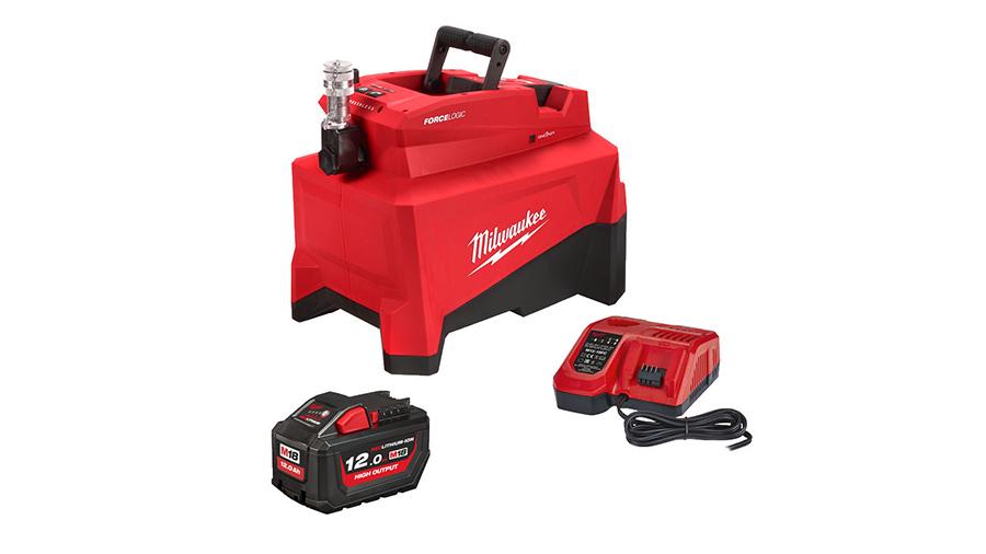 Pompe hydraulique sur batterie 18 V Milwaukee M18 HUP700-121