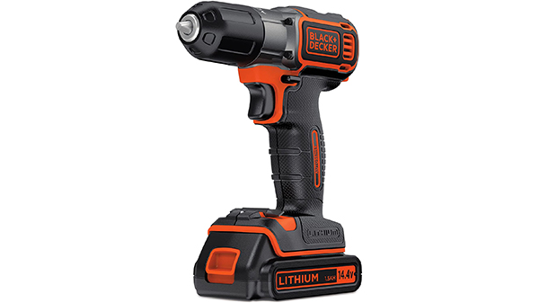 Perceuse sans fil ASD14KB BLACK+DECKER