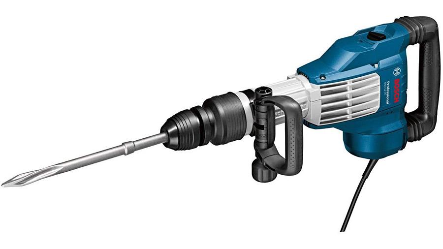 Le marteau burineur filaire SDS Max Bosch Professional GSH 11 VC