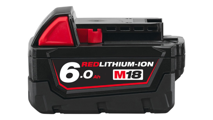 Batterie 18 V 6,0 Ah Milwaukee M18 B6