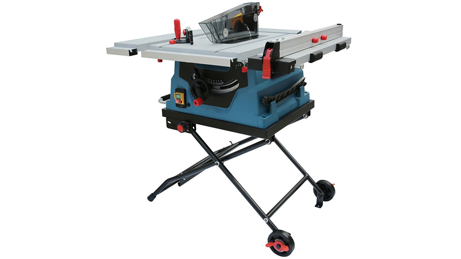 Scie sur table radiale filaire 1500 W Erbauer ETS1500 3663602797456