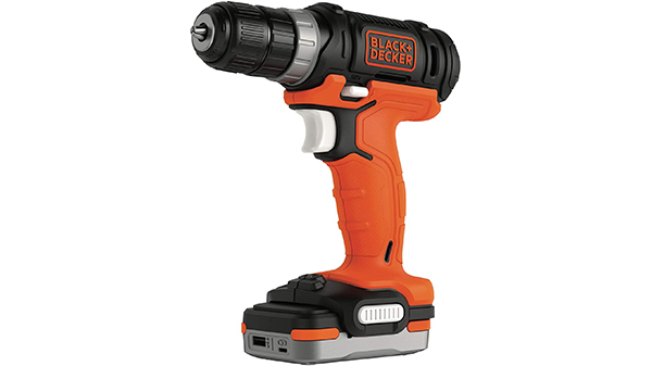 Perceuse visseuse sans fil BDCDD12USB-XJ BLACK+DECKER