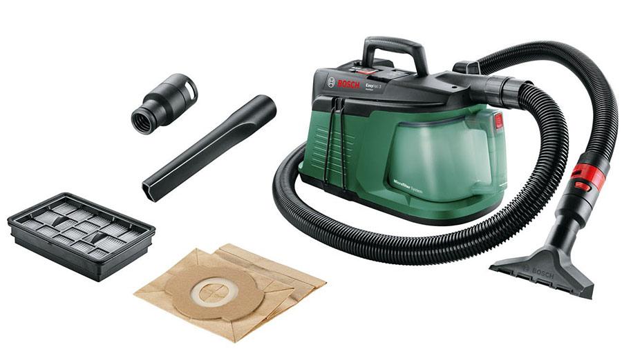 Test et avis de l'aspirateur de chantier EasyVac 3 Bosch pas cher