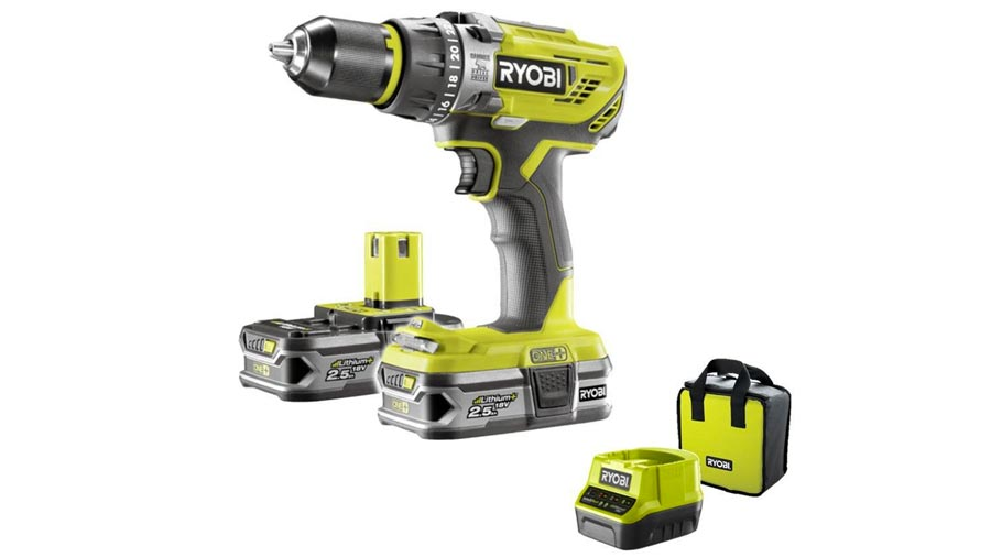 Perceuse visseuse à percussion R18PD31-225S Ryobi