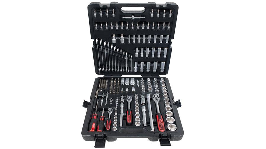 """KS Tools 917.0216, Jeu de 216 douilles et clés Torx 1/4"""", 3/8"""" et 1/2"""""""