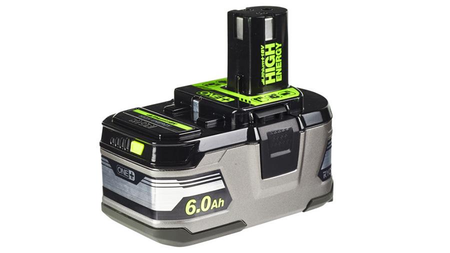 avis prix batterie RB18L60HP ryobi 18 V 6,0 Ah pas cher