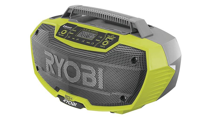test et avis Radio de chantier RYOBI 18V OnePlus R18RH-0 prix pas cher