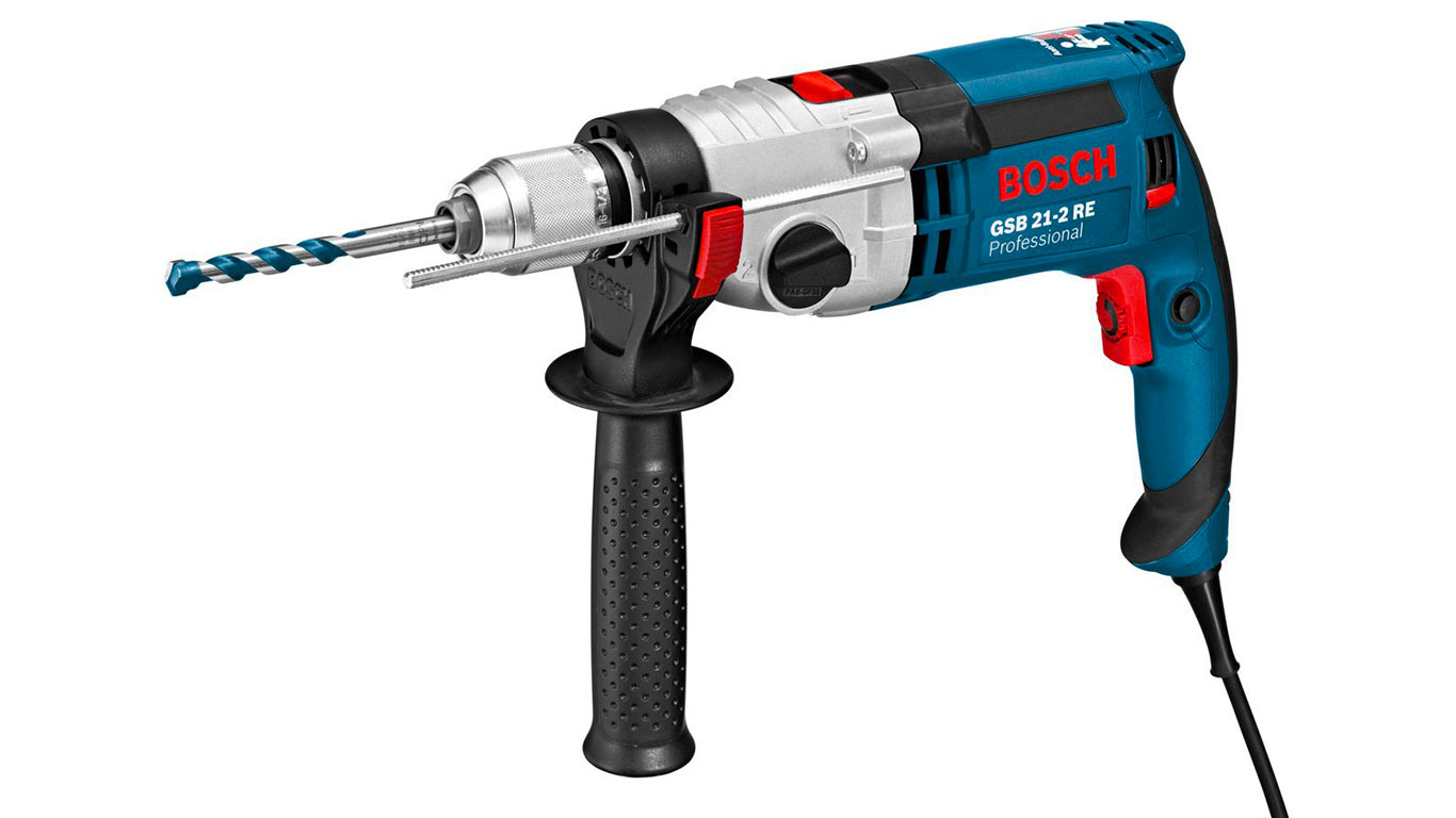 Bosch Professional 060119C500 Perceuse à percussion GSB 21-2 RE