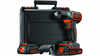 La perceuse-visseuse sans fil ASD184KB Black+Decker