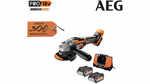 La meuleuse sans fil Brushless AEG BEWS 18-125BL