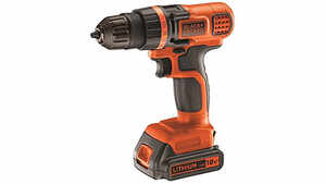 La perceuse-visseuse sans fil EGBL18K Black+Decker