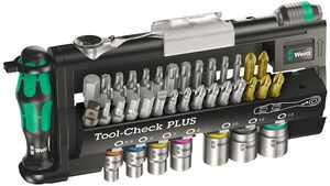 Wera 5056490001 Tool-Check Plus Jeu d'Embouts torsion mini-cliquet à embout pas cher