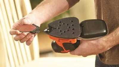 Ponceuse Black & Decker Mouse 120 W KA2000