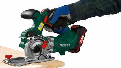 La scie plongeante sans fil Parkside PTS 20 - Li A1, 20 V