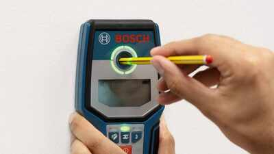 Détecteur digital GMS 120 Bosch