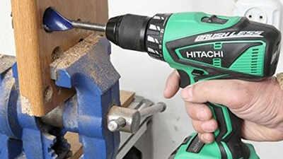 Test et avis perceuse-visseuse à percussion Hitachi DV18DBEL4A prix pas cher