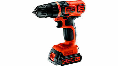 La perceuse-visseuse sans fil EGBL14KBA Black+Decker