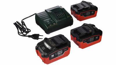 Pack batterie et chargeur Metabo 18 V 5.5 Ah LiHD 685074000