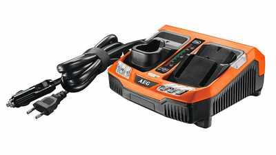 test et avis chargeur rapide de batteries AEG BLK1218