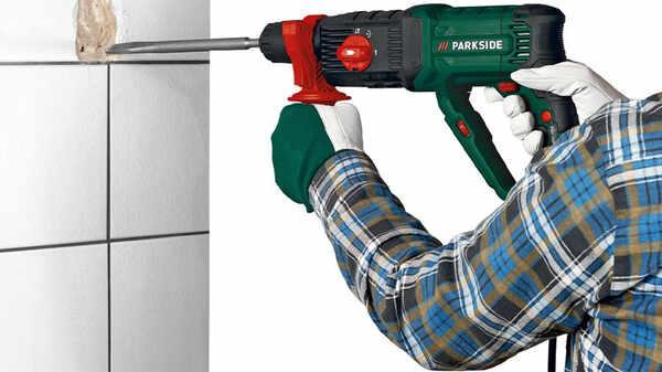 Marteau perforateur et piqueur avec SDS-Plus PBH 1500 F6, 1500 W Parkside