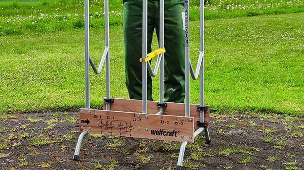 Chevalet de tronçonnage 5121000 Wolfcraft