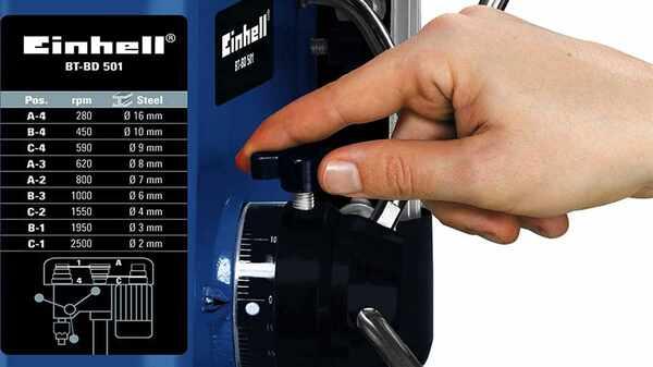 Perceuse à colonne Einhell BT-DB 501
