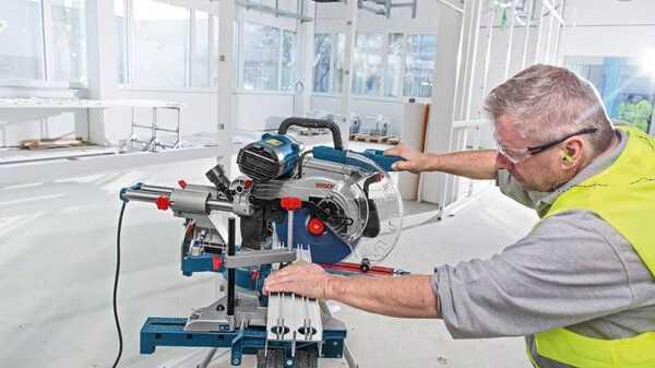 Scie à onglets radiale GCM 350-254 Bosch Professional