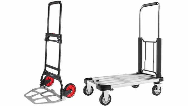 Diable ou chariot plateau, 100 ou 150 kg Parkside
