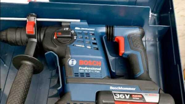 Perforateur burineur Bosch GHB 36VF-Li