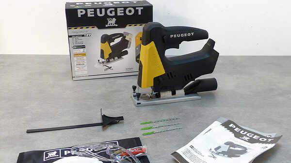 La scie sauteuse sans fil Peugeot EnergySaw-J18V