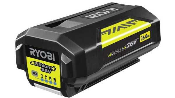 Batterie Ryobi BPL3650D2 36 V Lithium + 5,0 Ah