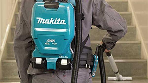 L'aspirateur dorsal AWS sans balais DVC265ZXU Makita