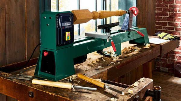 Tour à bois PDB 100 A1, 400 W Parkside