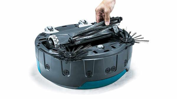 Test et avis de l'aspirateur Robot 18 V Li-Ion Makita DRC200Z
