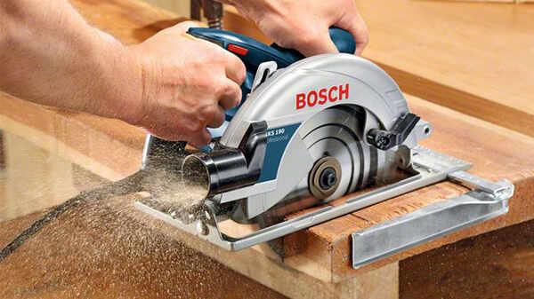 Test et avis de la scie circulaire GKS 190 Bosch professional prix pas cher