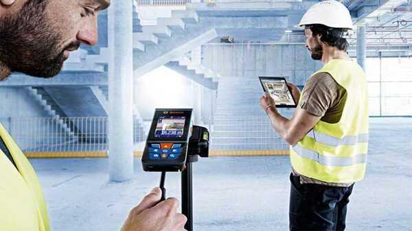 Télémètre laser caméra Bosch 120mGLM120C - 0601072F00