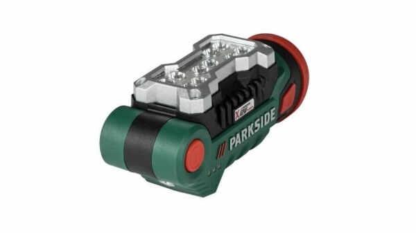 Lampe de travail à LED sans fil PLLA 12 B2 12 V Parkside