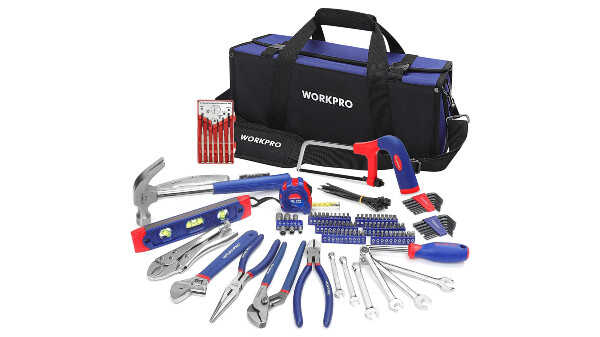 Kit d'outils avec sac durable WorkPro W009089A