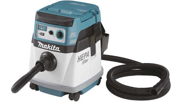 L'aspirateur à connexion Bluetooth avec les machines sans fil 18 V DVC154LZ Makita