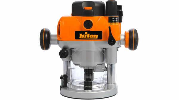 Défonceuse de précision bi-mode plongeante TRA001 Triton
