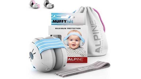 Casque antibruit Baby Muffy Alpine