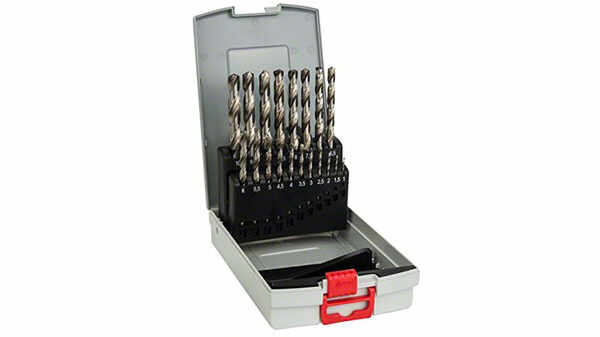 Bosch 2608587013 Assortiment Probox de forets à métaux rectifié HSS-G DIN 338