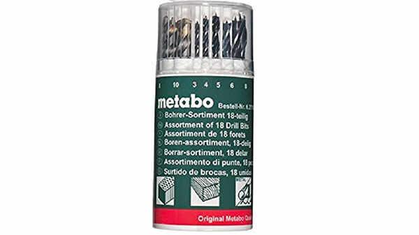 Metabo - 6.27190.00 - Coffret de forets - 18 pièces pas cher
