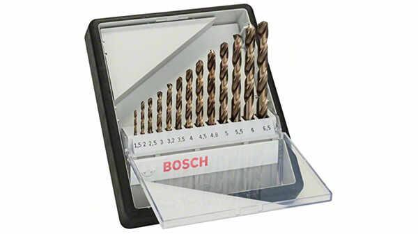 Bosch 2607019926 meilleur Foret à métaux rectifié au cobalt HSS-Co Robust Line DIN 338 pas cher