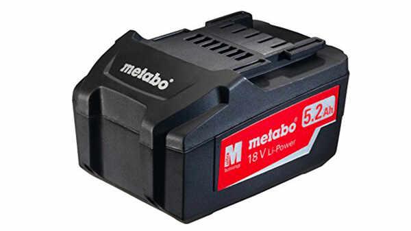 Batterie Metabo 18 V 5.2 Ah 625592000