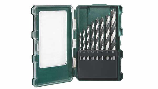 Metabo 626705000 Coffret de 8 forets à bois pas cher